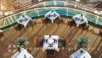 Ventura - Außenbereich des The White Room-Restaurants