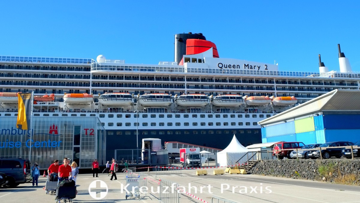 Queen Mary 2 and Queen Elizabeth are on pause until early summer 2021