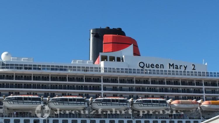 Queen Mary 2 - Der markante Schornstein