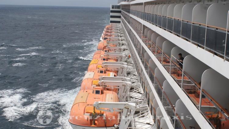 Queen Mary 2 - Balkonkabinen