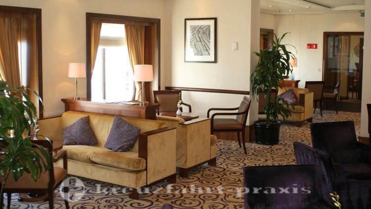 Queen Mary 2 - Queens Grill Lounge - Der Edelbereich für Suitengäste