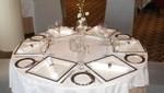 Queen Mary 2 - Eingedeckter Tisch im Todd English Restaurant