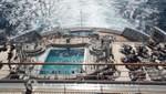 Queen Mary 2 - Terrace Pool auf dem Achterdeck