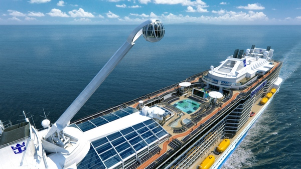 Quantum of the Seas - North Star in Aktion