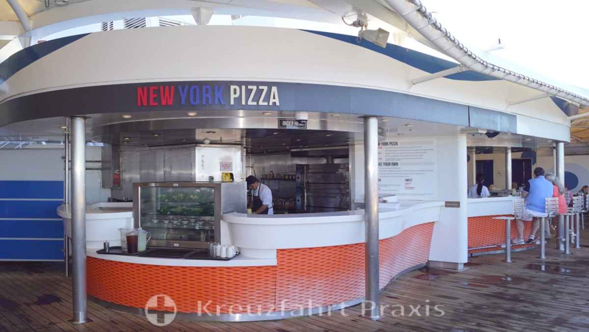 MS Rotterdam  - New York Pizza