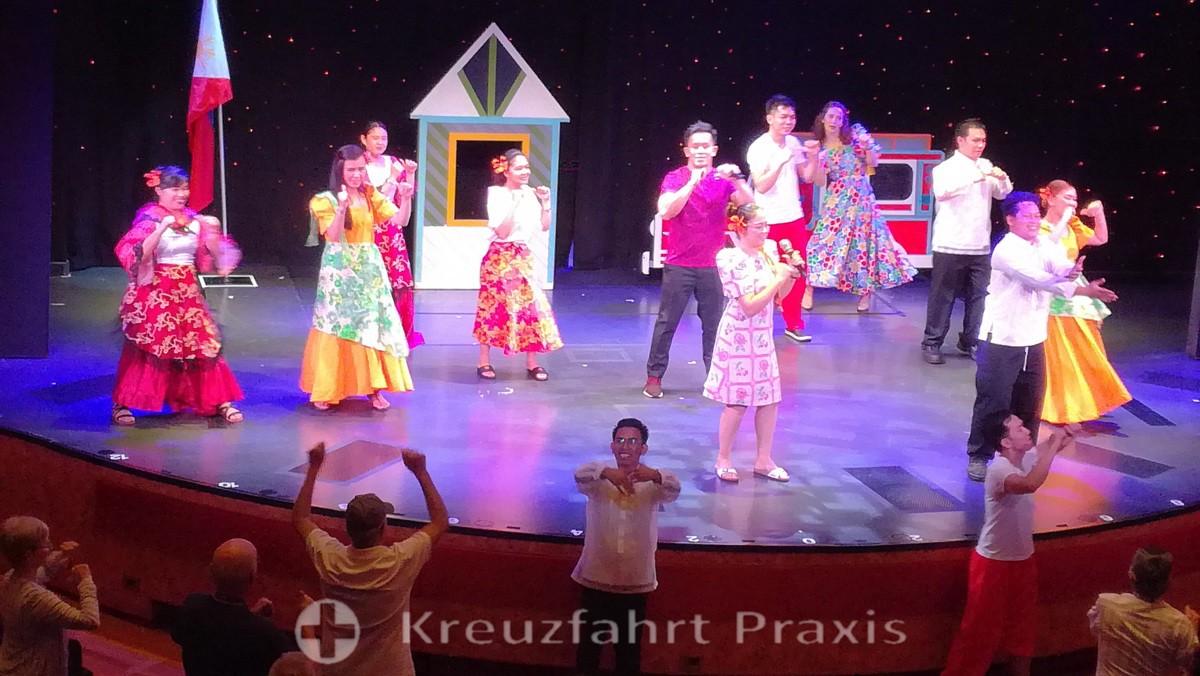 MS Rotterdam - Filipino Crew Show
