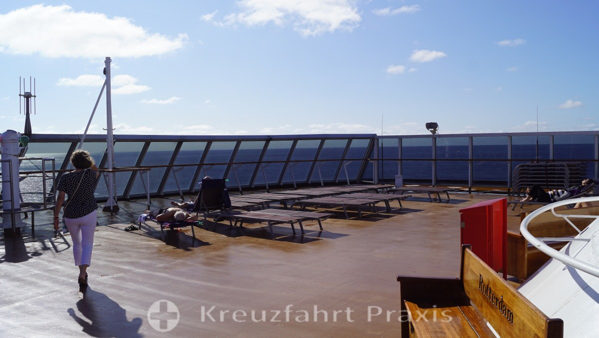 Sky Deck of the MS Rotterdam