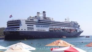 MS Rotterdam - Durch den Panamakanal