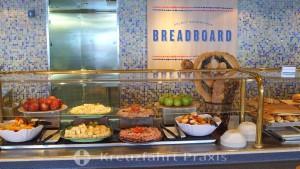 MS Rotterdam - Lido Market buffet restaurant - Bread Board