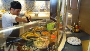 MS Rotterdam - Buffetrestaurant Lido Market - Frischestation