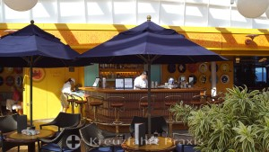 The Lido Bar on the MS Rrotterdam