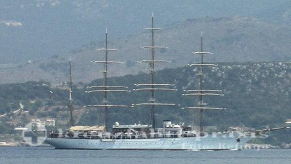 Sea Cloud vor Argostoli