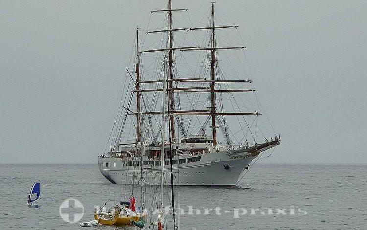 Sea Cloud II vor Funchal