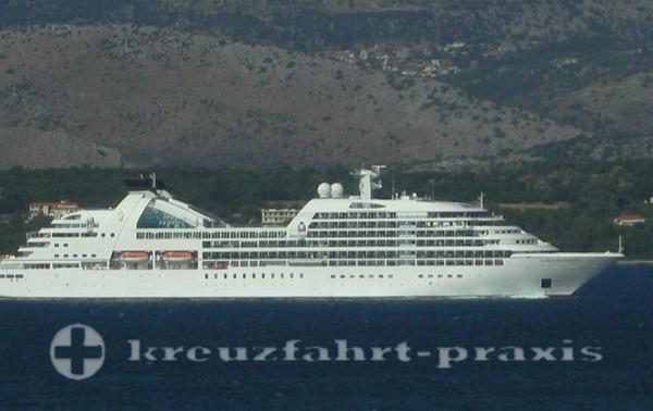 Seabourn Odyssey vor Kefalonia/Griechenland