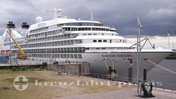 Seabourn Sojourn in Hamburg