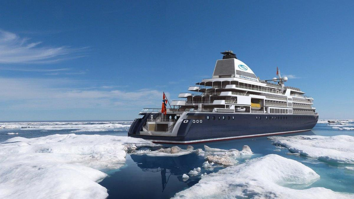 Neues zur Mega-Yacht SeaDream Innovation