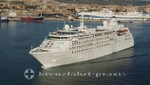 Silver Cloud in Civitavecchia