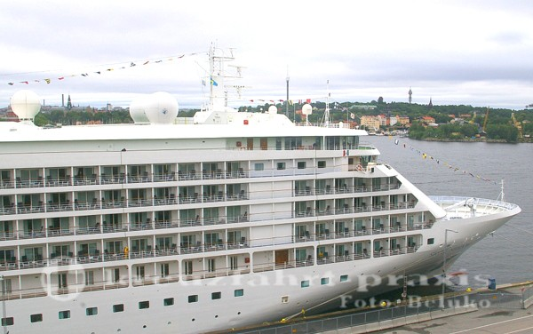 Silver Shadow in Stockholms Hafen