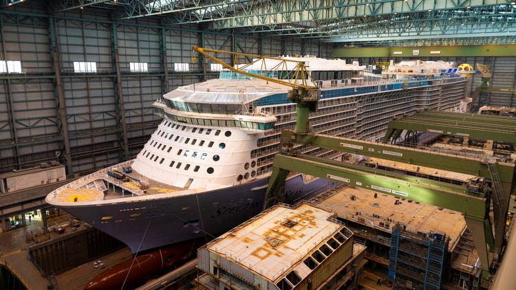 Spectrum of the Seas im Baudock II