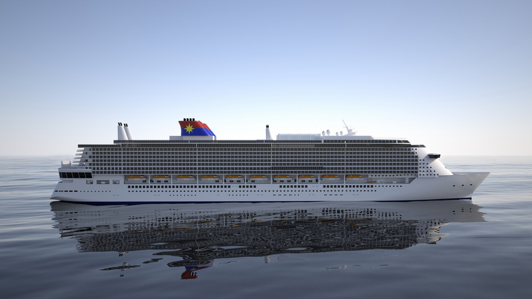 Star Cruises - Global Class-Schiff-Rendering