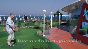 Mariner of the Seas - Minigolf