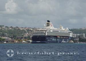 Mein Schiff 1 vor Martinique