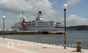 MS Astor in Lissabon