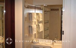 MS Astor -Badezimmer Aussensuite