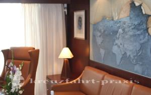 MS Astor -Astor Suite Wohnbereich