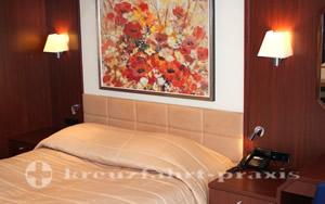 MS Astor -Astor Suite Schlafbereich