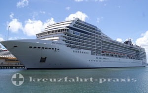 MSC Poesia - Transatlantic from Fort Lauderdale to Genoa