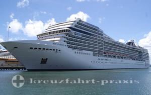 MSC Poesia - Transatlantik von Fort Lauderdale nach Genua