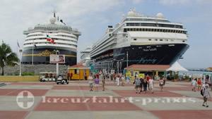 Sint Maarten - Mein Schiff und Disney Magic