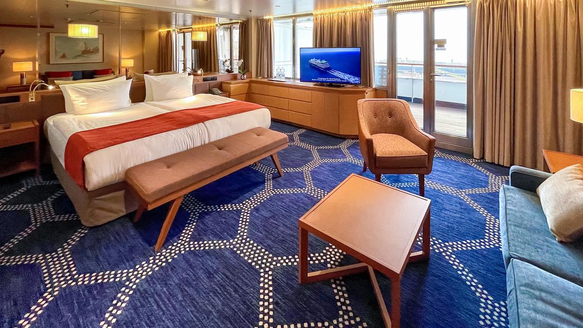 nicko cruises - VASCO DA GAMA - balcony suite