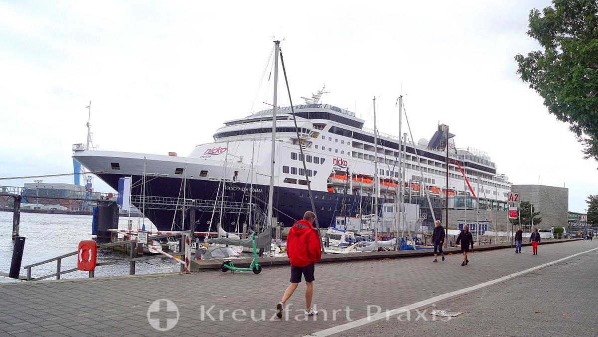 VASCO DA GAMA - at the Ostseekai in Kiel