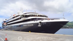 Expedition ship WORLD VOYAGER comes to Kiel in July