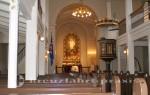 Kirchenschiff der Domkirkjan