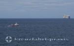 Vogelfelsen vor Islands Küste