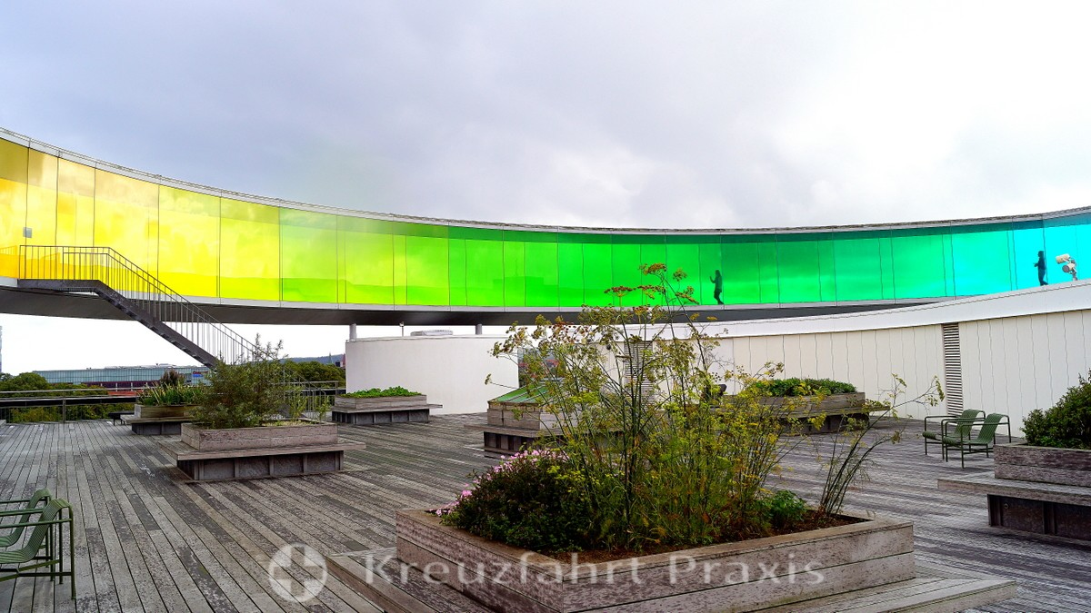 The rainbow of the ARoS art museum