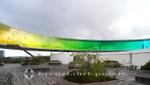 Der gläserne Regenbogen über dem ARoS Kunstmuseum