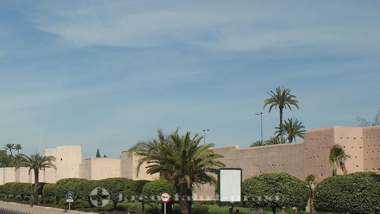 Marrakesch - Stadtmauer