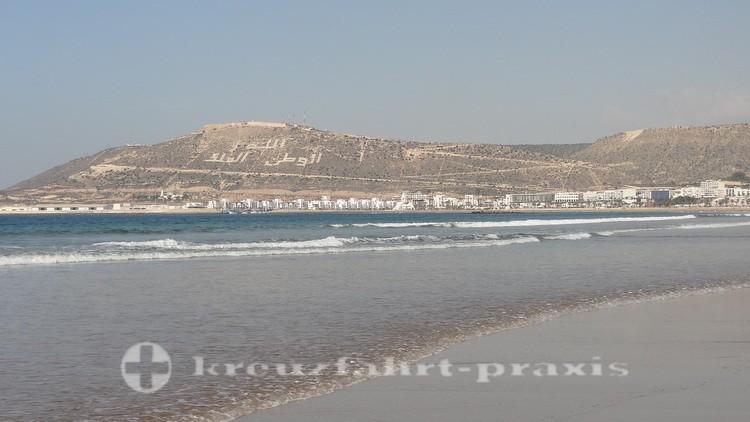 Agadirs weitläufiger Strand