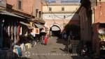 Marrakesch - Souk Sebbaghine
