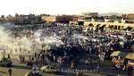 Marrakesch - Auf dem Platz Djemaa el Fna öffnen die Garküchen