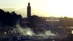 Marrakesch - Abends auf dem Platz Djemaa el Fna