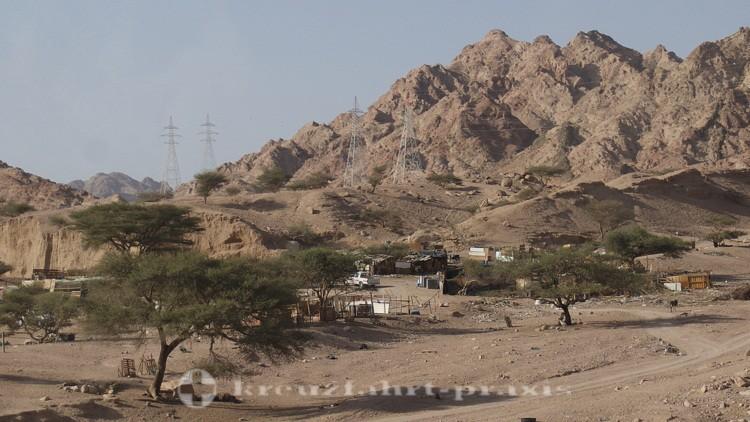 Fahrt ins Wadi Rum