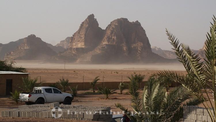 Akaba - Felsformation im Wadi Rum