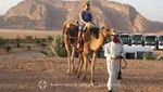 Wadi Rum - Ein Besatzungsmitglied reitet aus