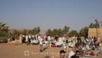 Wadi Rum - Die Gäste des AzAmazing Evening stellen sich ein