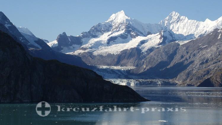 Der Johns Hopkins Gletscher